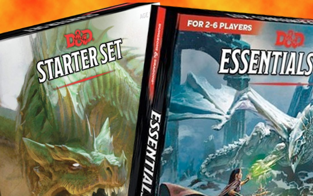 D&D Starter Set Vs. Essential Kit